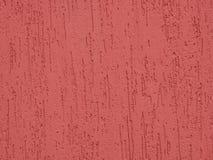 Орнаментальное розовое заволакивание стены Стоковая Фотография