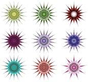 орнаментальные звезды Бесплатная Иллюстрация