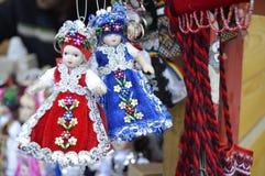 Орнаментальные куклы, handmade Стоковое фото RF