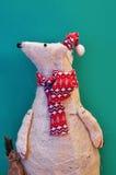 Орнаментальный полярный медведь Стоковая Фотография RF