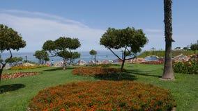 Орнаментальный сад в парке влюбленности в Miraflores, Лиме Стоковые Изображения RF