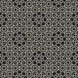 Орнаментальная арабская безшовная картина Стоковые Фото
