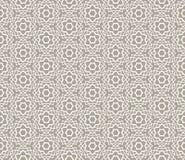 Орнаментальная арабская безшовная картина Стоковые Фотографии RF