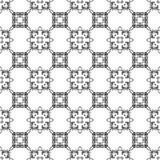 Орнаментальная безшовная линия картина Стоковое Изображение RF