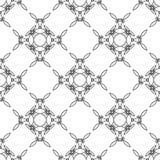 Орнаментальная безшовная линия картина Стоковое фото RF