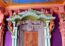 Орнаментальная дверь виска Стоковое Изображение RF
