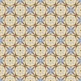 Орнаментальная геометрическая безшовная картина Текстура предпосылки вектора абстрактная Мужские цвета Стоковые Изображения