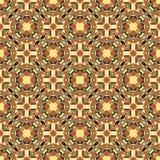 Орнаментальная геометрическая безшовная картина Стоковые Изображения RF