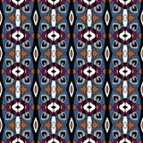 Орнаментальная декоративная безшовная картина Текстура предпосылки вектора Стоковое Фото