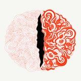 Орнаментальная картина в кельтском стиле от элементов doodle Стоковое фото RF