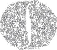 Орнаментальная картина в кельтском стиле Стоковое Изображение RF