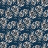 орнаментальная картина Vector текстура год сбора винограда Безшовная предпосылка Стоковая Фотография