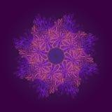 Орнаментальная круглая картина Стоковая Фотография RF
