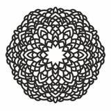 Орнаментальная круглая картина Стоковые Фотографии RF