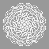 Орнаментальная роскошная мандала Цветок Mehndi в индийском стиле мандалы хны Стоковые Фото