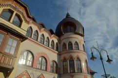 Орнаментальная часть здания в komarno Стоковые Изображения RF