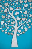Орнаментальное дерево с птицами для wedding Стоковое Изображение RF