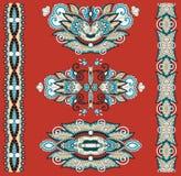 Орнаментальное флористическое украшение Стоковые Фото