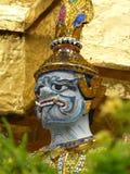 Орнаментальные тайские Будда - Бангкок Стоковое фото RF