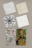Орнаментальные ткани Стоковые Изображения RF