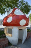 Орнаментальный гриб Стоковые Изображения RF