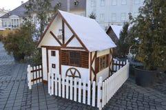 Орнаментальный маленький дом Стоковое Изображение RF