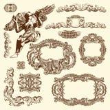 Орнаментальный элемент дизайна Львова исторический Стоковое фото RF