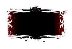 орнаментированное grunge Стоковое Изображение RF