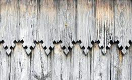 орнаментирует деревянное Стоковые Фото