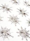 орнаментирует снежинку Стоковые Фотографии RF