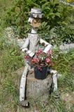 орнаментируйте деревянное Стоковая Фотография