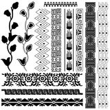орнаменты америки стародедовские белые стоковое фото
