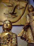Орнаменты Будды, Таиланд. Стоковое Изображение