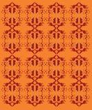 Орнаменты дизайна экзотические на белых ацтеках Стоковые Изображения
