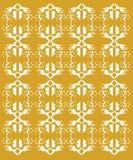 Орнаменты дизайна экзотические на белых ацтеках Стоковое фото RF