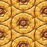 Орнаменты золота Стоковое Изображение RF