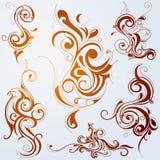 орнаменты карамельки Стоковое Изображение RF