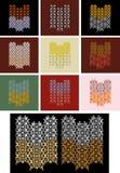 орнаменты комбинации различные Стоковое фото RF