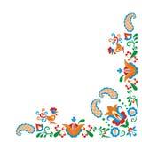 орнаменты Моравии Стоковые Фотографии RF