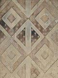 Орнаменты на двери Стоковые Фотографии RF
