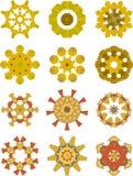 орнаменты праздника собрания Стоковое Фото