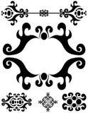 орнаменты рассекателей украшений Стоковая Фотография RF