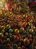 Орнаменты рождества в декабре Стоковое Изображение RF