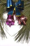 орнаменты рождества кедра ветви Стоковое Изображение RF