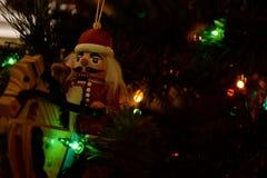 Орнаменты рождества - Щелкунчики стоковые изображения rf