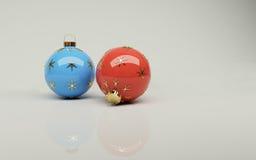 орнаменты рождества Стоковое фото RF