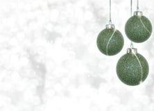 орнаменты рождества Стоковое Изображение RF