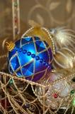 орнаменты рождества стоковое изображение