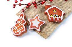 Орнаменты рождественской елки Стоковые Фотографии RF