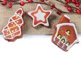 Орнаменты рождественской елки Стоковое фото RF